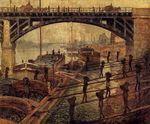 Клод Моне Докеры с углём 1875г