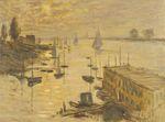 Клод Моне Залив, вид с моста в Аржантёе 1874г