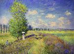 Клод Моне Лето, маковое поле 1875г