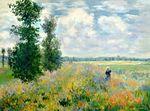 Клод Моне Маковое поле, Аржатнёй 1875г