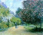 Клод Моне Парк Монсо 1876г