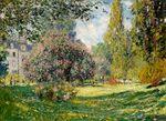 Клод Моне Парк Монсо, Париж 1876г