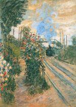 Клод Моне Прибытие в Монтежерон 1876г