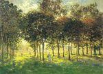 Клод Моне Прогулка в Аржантёе, закат 1874г