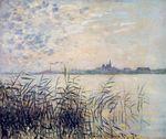 Клод Моне Сена близ Аржантёя 1874г