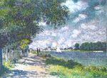 Клод Моне Сена в Аржантёе 1875г 79х59cm