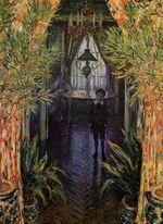 Клод Моне Уголок квартиры 1875г