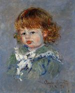 Клод Моне Жан-Пьер Хосхеде (Малыш Жан) 1878г
