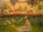 Клод Моне Женщина в саду 1876г Эрмитаж Санкт-Петербург