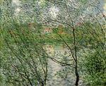 Клод Моне Остров Гранд-Жатт на Сене 1878г
