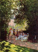 Клод Моне Парк Монсо 1878г