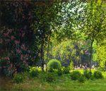 Клод Моне Парк Монсо 1878г 54х65см