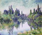 Клод Моне Утро на Сене близ Ветёя 1878г
