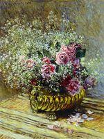 Клод Моне Цветы в горшке 1878г 82х62см
