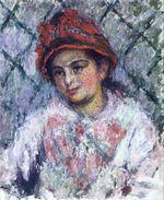 Клод Моне Бланш Хосхеде 1880г
