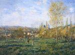 Клод Моне Весна в Ветёе 1880г