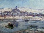 Клод Моне Ветёй зимой 1879г