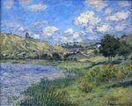 Клод Моне Ветёй, пейзаж 1879г
