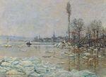 Клод Моне Вскрытие льда 1880г