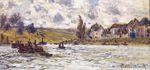 Клод Моне Деревня Лавакура 1878г.
