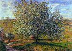 Клод Моне Дерево в цвету близ Ветёя 1879г