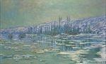 Клод Моне Льдины на Сене 1880г