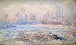 Клод Моне Мороз близ Ветёя 1880г