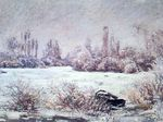 Клод Моне Мороз 1880г