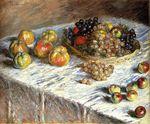Клод Моне Натюрморт с яблоками и виноградом 1879г