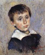 Клод Моне Портрет Жана Моне 1880г