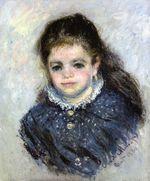 Клод Моне Портрет Жанны Серво 1880г