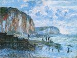 Клод Моне Скалы в Ле-пти-Даль 1880г