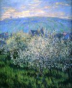 Клод Моне Сливы в цвету 1879г