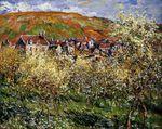 Клод Моне Сливы в цвету, Ветёй 1879г