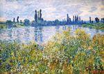 Клод Моне Цветы на берегах Сены близ Ветёя 1880г