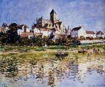 Клод Моне Церковь в Ветёе 1880г