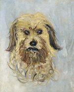 Клод Моне Голова собаки 1882г