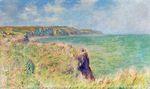 Клод Моне Край скалы в Пурвиле 1882г
