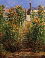 Клод Моне Лестница в Ветёе 1881г