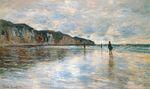 Клод Моне Отлив в Пурвиле 1882г