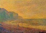 Клод Моне Отлив в Пурвиле, туманная погода 1882г