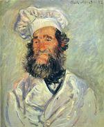 Клод Моне Портрет Папаши Поля 1882г