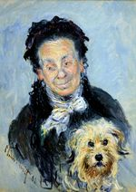 Клод Моне Портрет Юджинии Графф (Мадам Поль) 53х63