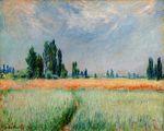 Клод Моне Пшеничное поле 1881г