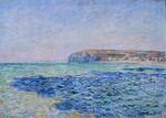 Клод Моне Тень на море в Пурвиле 1882г