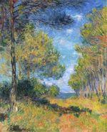 Клод Моне Тропинка в Варанжевиле 1882г