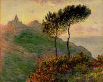 Клод Моне Церковь в Варанжевиле 1882г
