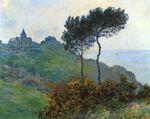 Клод Моне Церковь в Варанжевиле, пасмурная погода 1882г