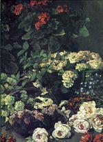 Весенние цветы. 1864г