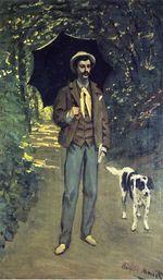 Виктор Жакемон с зонтом 1865